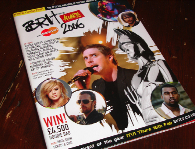 Publishing – The BRIT Awards magazine and programme 2006