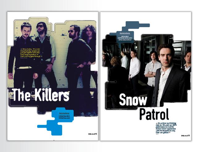 Publishing – The BRIT Awards magazine and programme 2007