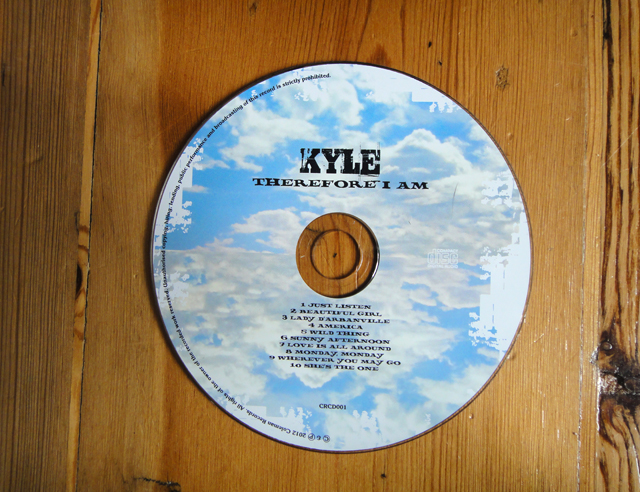 CD – Kyle Coleman album – Coleman Records