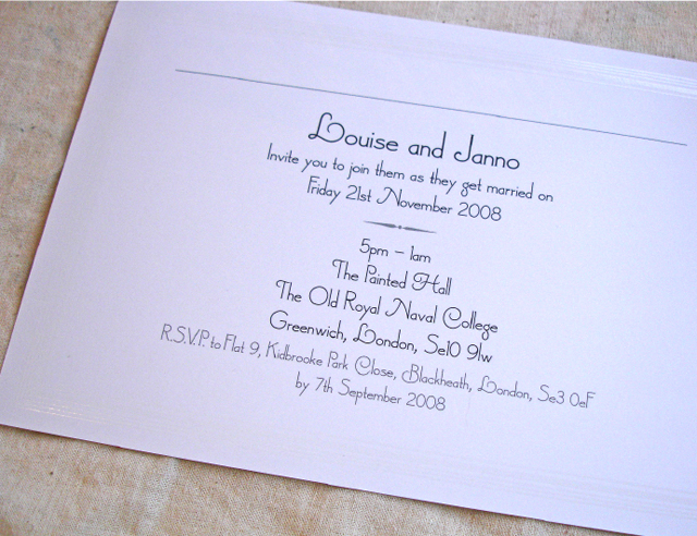 Wedding Invitations – Arty Invites