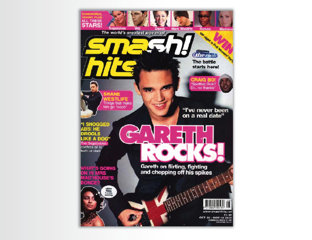 Publishing – Smash Hits magazine
