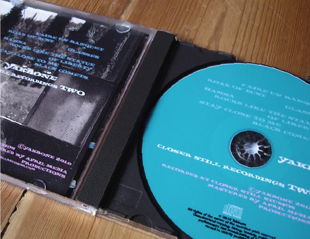 CD – Yakbone EP2 – Closer Still Records