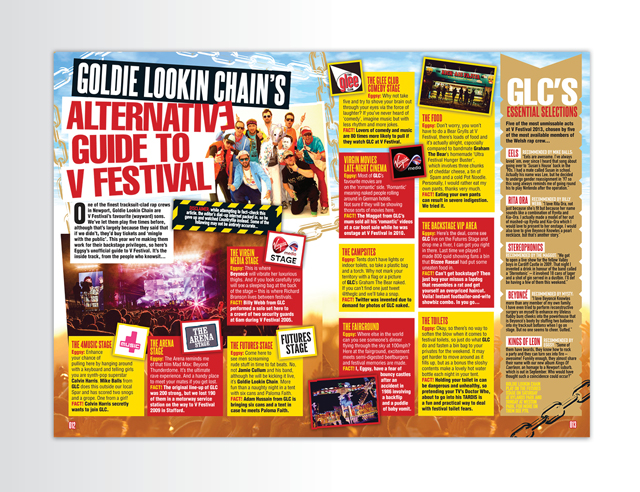 Publishing – V Festival Programme 2013