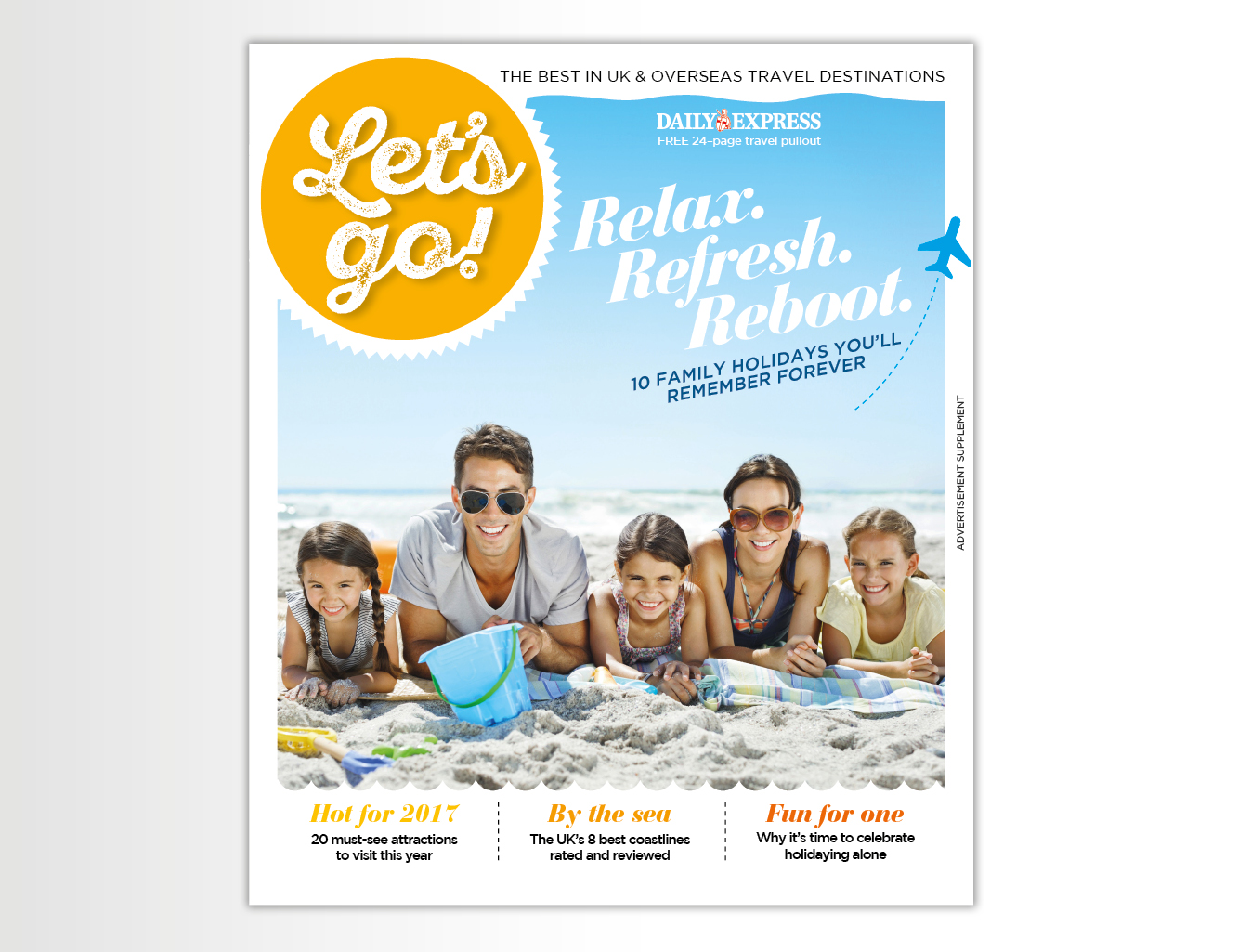 Publishing – Let's Go! magazine – Daily Express On Saturday