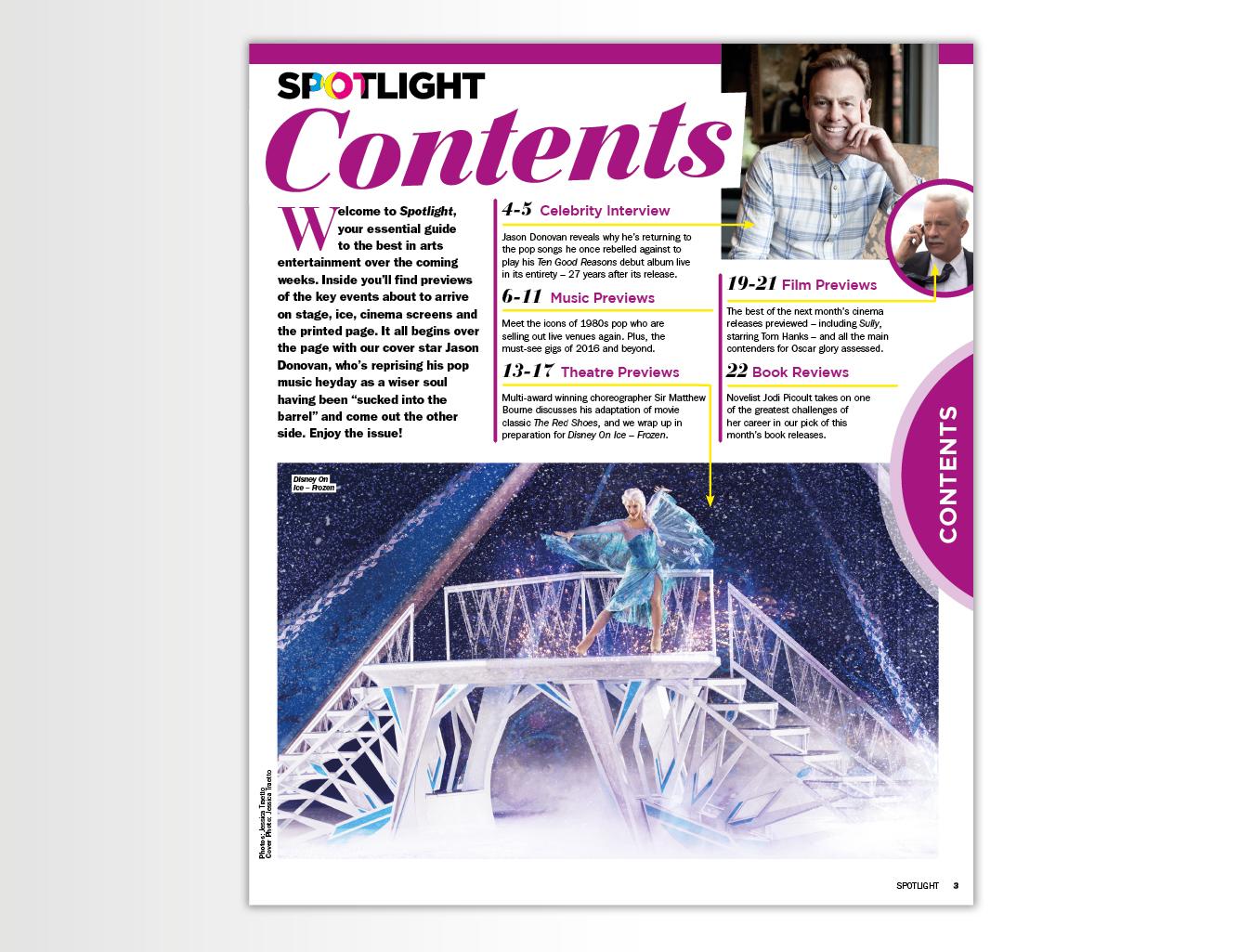 Publishing – Spotlight magazine – Daily Express On Saturday